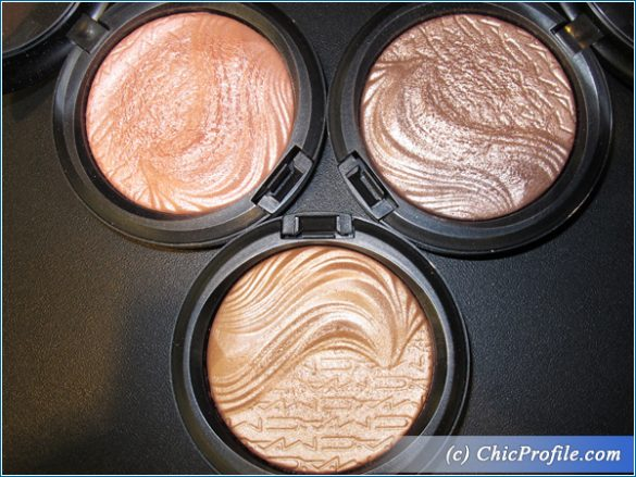 MAC Magnetic Nude Extra Dimension Eye Shadow and Chilled