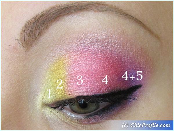 Pinky Funky Makeup Tutorial Beauty