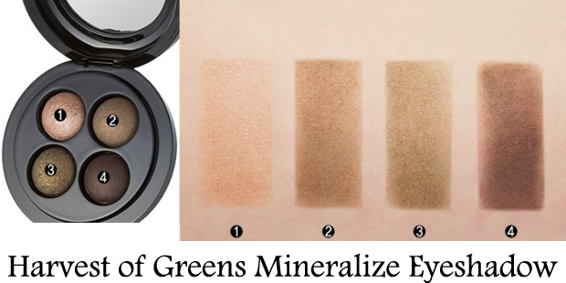 MAC-A-Harves-of-Greens-Mineralize-Eyeshadow-Swatches