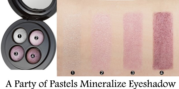 MAC-A-Party-of-Pastels-Mineralize-Eyeshadow-Swatches