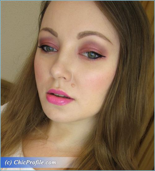 Purple-Makeup-Pink-Lips-2014