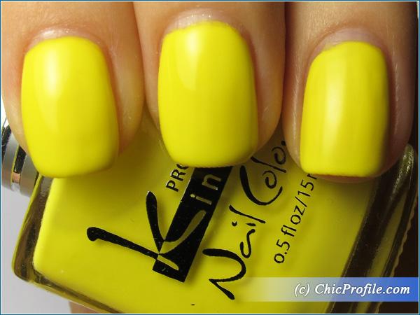 Kinetics-Lemon-Zest-Nail-Polish-Swatch-1