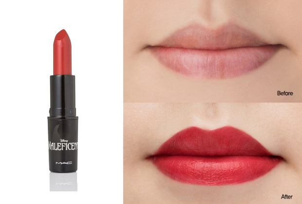 Limited Edition Maleficent Lipstick Color True Loves Kiss Authentic Sold Out Used But As You Can See Still Much Product Left