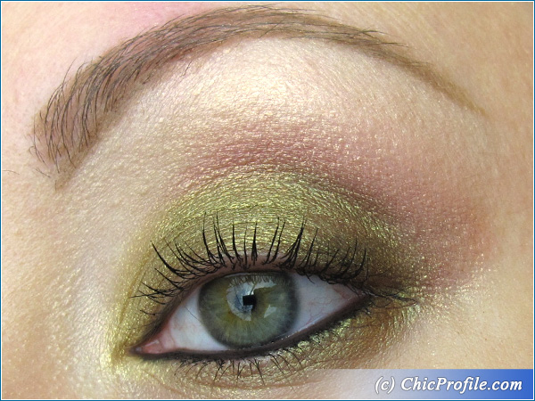 Golden Olive Makeup with MAC & Inglot Pigments - Beauty ...