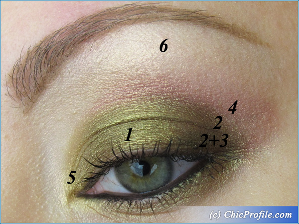 Yellow-Green-Pigment-Makeup-3
