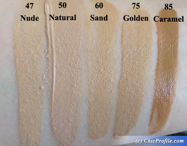 Makeup forever powder foundation swatches