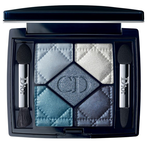 Dior-5-Couleurs-Eye-Shadow-Palette-Carre-Bleu