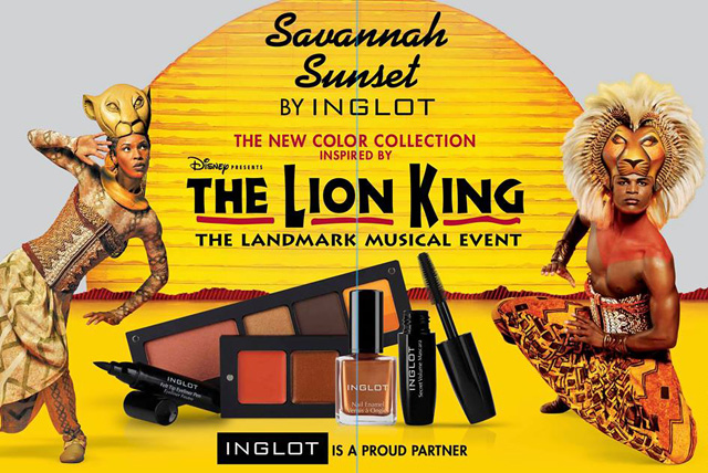 Inglot-Savannah-Sunset-Collection-Lion-King