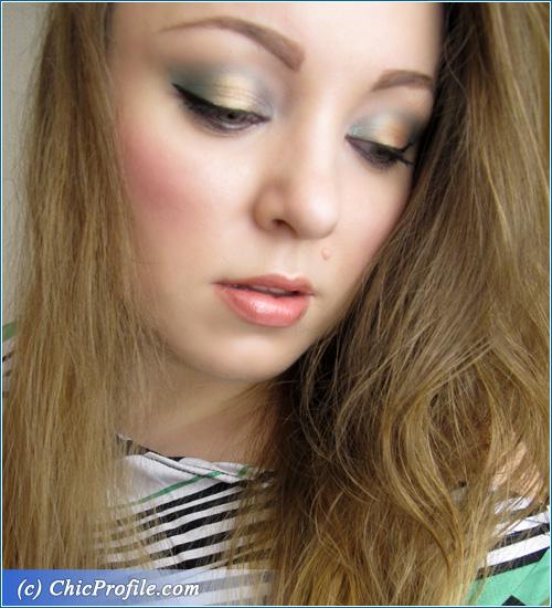 Green-Gold-Makeup-Look