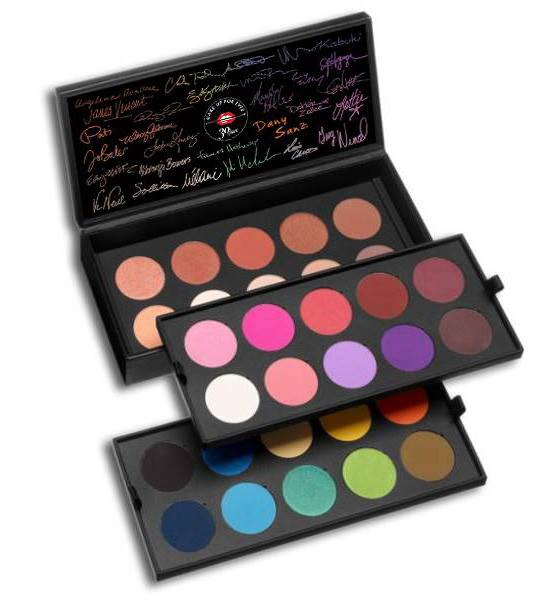 MUFE-30Years-30-Colors-30Artists-Palette