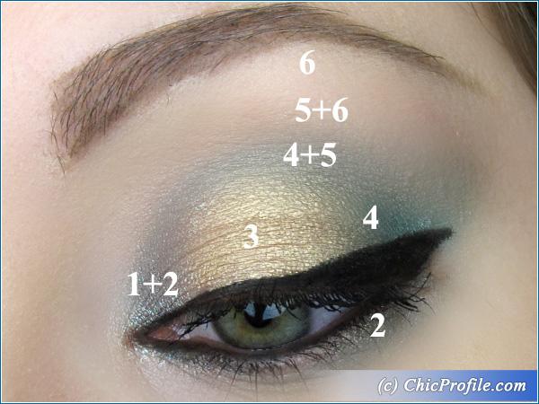 Senna-Mustaev-Make-Up-For-Ever-Gold-Green-Makeup-3