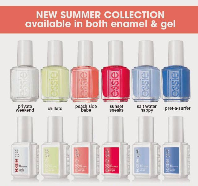 essie peach side babe 2015 summer collection beauty