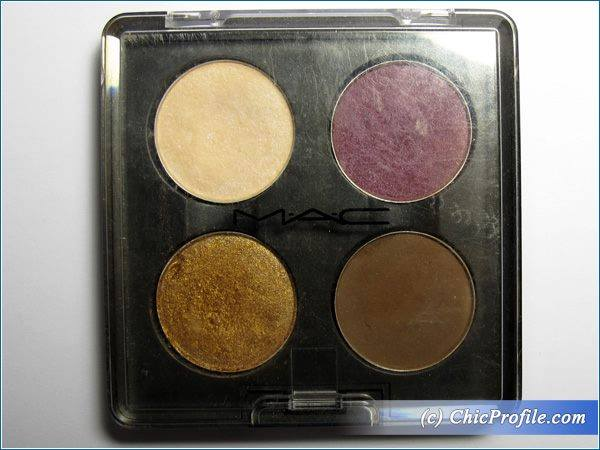 MAC Vapour Plump Dressing Amber Lights Corduroy Eyeshadow