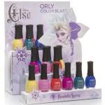 Disney Elsa Orly Color Blast Spring 2015 Collection