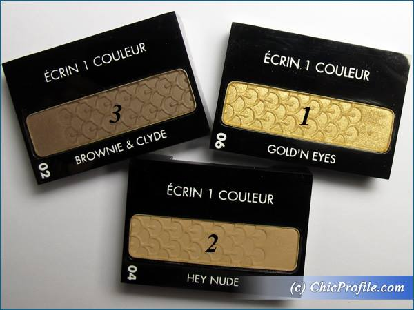 Guerlain-Ecrin-1-Couleur-Brownie-Clyde-Gold'n-Eyes-Hey-Nude-Swatches