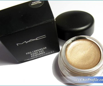 MAC Vintage Selection Pro Longwear Paint Pot Review, Swatches, Photos