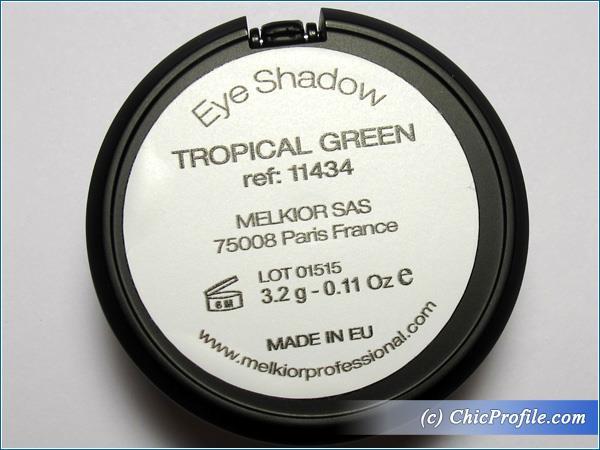 Melkior-Tropical-Green-Eyeshadow-Review-3