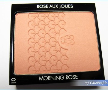 Guerlain Morning Rose Blush Review, Swatches, Photos