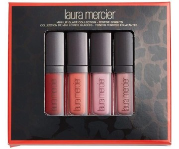 Laura Mercier Festive Brights Mini Lip Glacé Set for Fall 2015