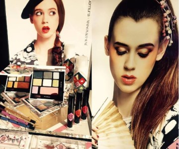 Shu Uemura Holiday 2015 Maison Kitsune Collection First Look