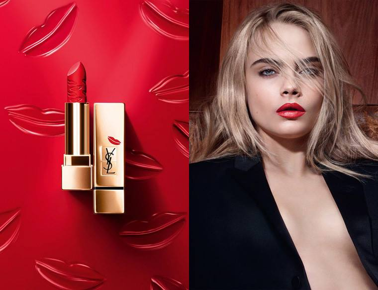 ysl rouge pur couture kiss love collection fall 2015 beauty trends and latest makeup. Black Bedroom Furniture Sets. Home Design Ideas