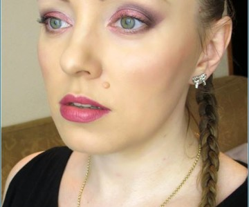Raspberry Metallic Look