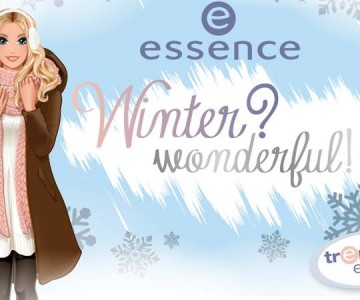Essence Winter Wonderful Holiday 2015 Collection