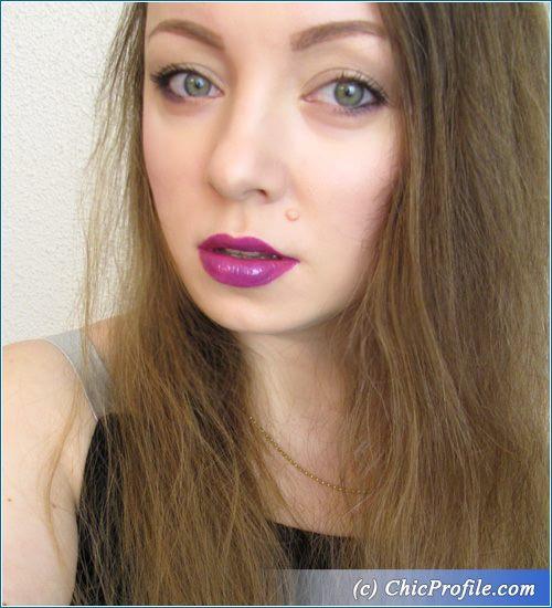 MAC-Violet-Lips-Nude-Makeup