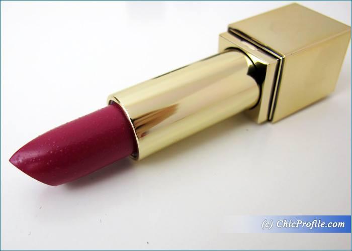 Estee-Lauder-Pure-Color-Fuchsia-Fever-Lipstick-Review-1