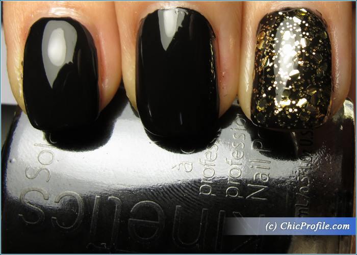 Kinetics-Solar-Gel-Jet-Black-Goldy-Nail-Polish-Swatches-1