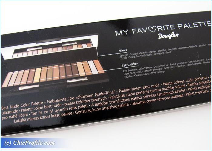 Bardzo dobry Douglas-My-Favorite-Palette-1 - Beauty Trends and Latest Makeup LH81
