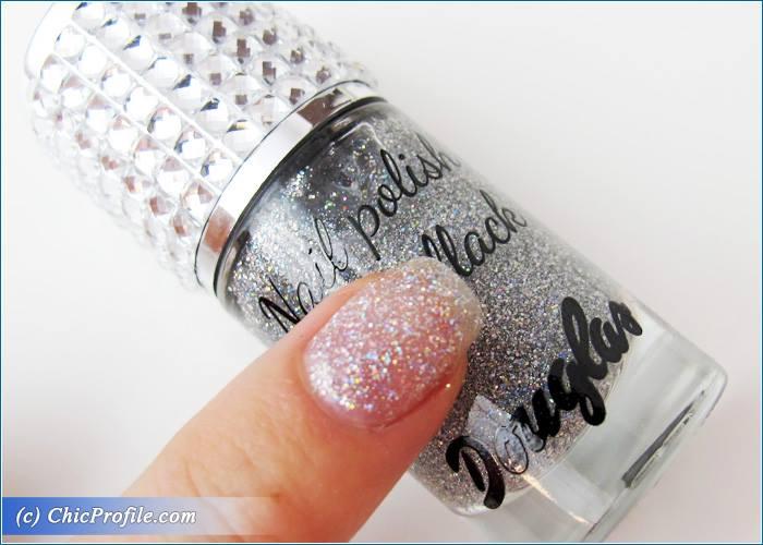 Douglas-Nail-Polish-Silver-Sparkling-Swatch