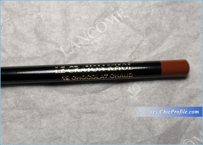 Lancome Chocolat Chaud Le Crayon Khol Review, Swatches, Photos ...