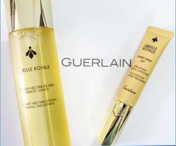 Guerlain Abeille Royale Honey Nectar and Honey Smile Lift Now in Romania