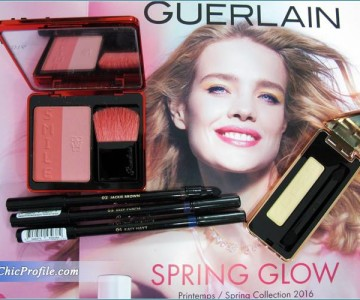 Guerlain Spring Glow 2016 Collection Swatches, Impressions