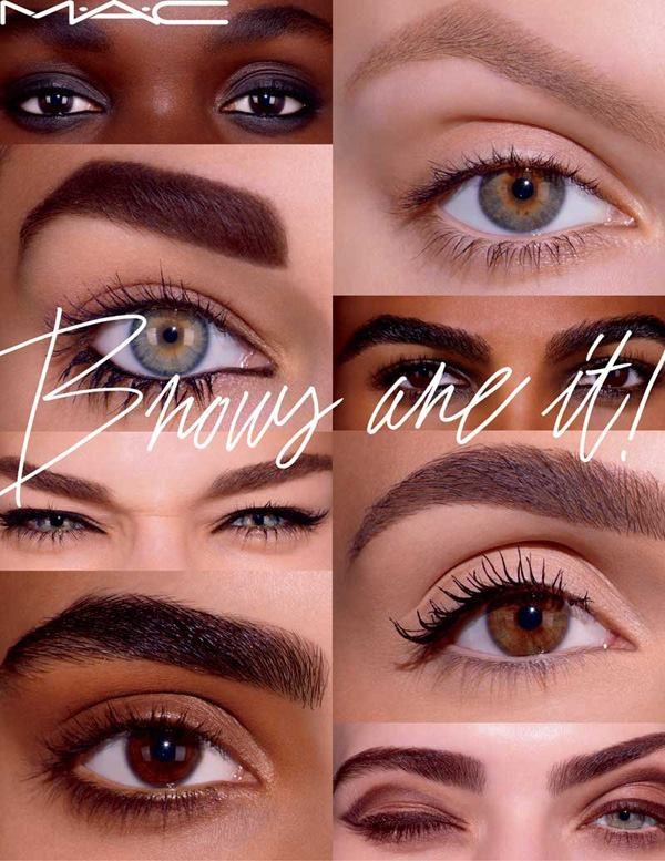 Cosmetics And Makeup: MAC Brows Are It! Spring 2016 Collection