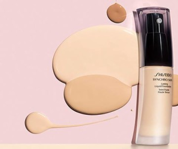 Shiseido Synchro Skin Lasting Liquid Foundation 2016