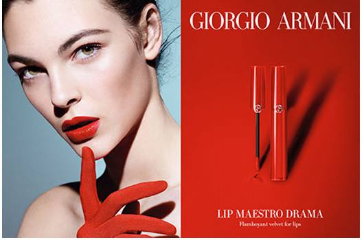 Giorgio Armani Lip Maestro Drama Summer 2016 Collection