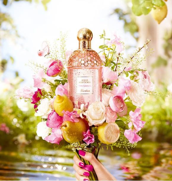 guerlain aqua allegoria pera granita 2016 summer fragrance beauty trends and latest makeup. Black Bedroom Furniture Sets. Home Design Ideas