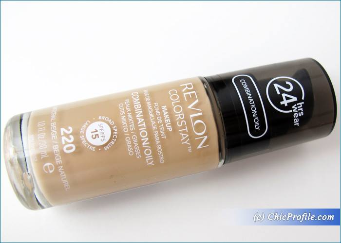 Revlon-Natural-Beige-Colorstay-Foundation-2016-Review