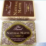 Too Faced Natural Matte Eyeshadow Palette Review, Swatches, Photos