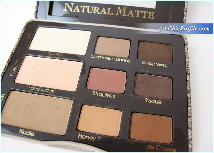 Too Faced Natural Matte Eyeshadow Palette Review