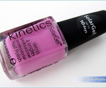 Kinetics Lost In Copacabana Solar Gel Nail Polish Review, Swatches, Photos