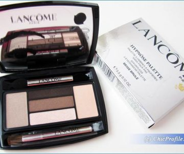 Lancome Beige Brule Hypnose Palette Review, Swatches, Photos