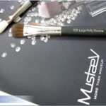 MustaeV E23 Large Fluffy Shadow and E55 Blending Shadow Brushes, Review, Photos