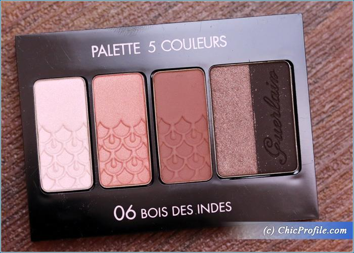 guerlain bois des indes 5 couleurs palette review swatches photos beauty trends and latest. Black Bedroom Furniture Sets. Home Design Ideas