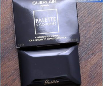 Guerlain Coque D'Or 5 Coluerus Palette Review, Swatches, Photos