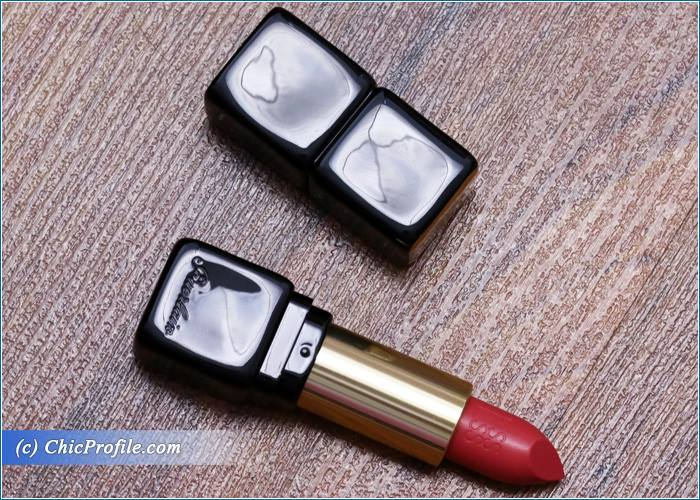 Guerlain-Fall-in-Red-Kiss-Kiss-Lipstick-Review-1