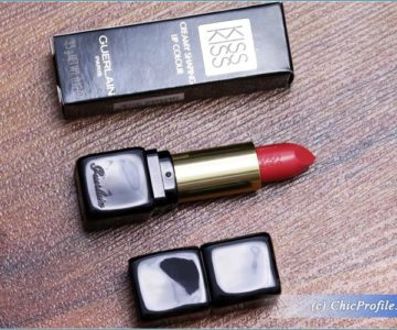 Guerlain Fall In Red Kiss Kiss Lipstick Review, Swatches, Photos