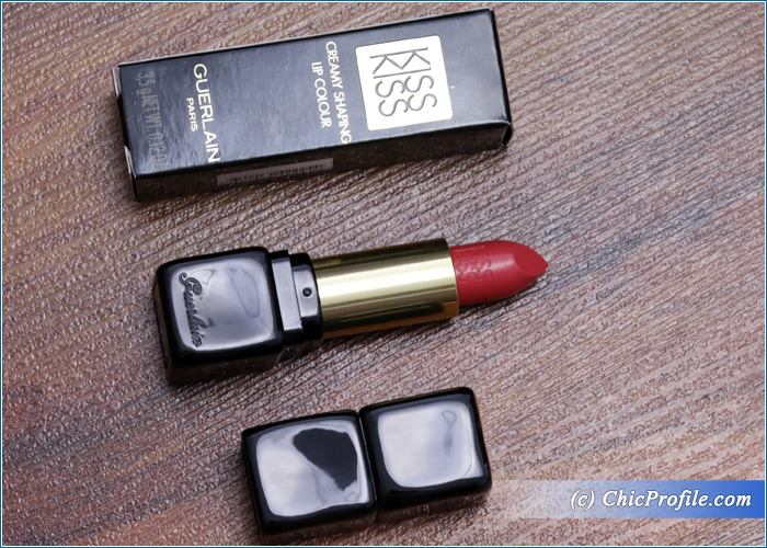 Guerlain-Kiss-Kiss-Fall-in-Red-Lipstick-Review